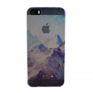 Silikónový kryt pre iPhone 5/5S/SE MOUNTAINS