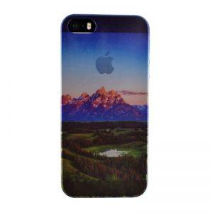 Silikónový kryt pre iPhone 5/5S/SE LANDSCAPE
