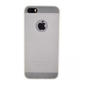 Silikónový kryt pre iPhone 5/5S/SE WHITE