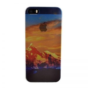 Silikónový kryt pre iPhone 5/5S /SE MOUNTAIN