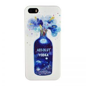 Plastový kryt pre iPhone 5/5S/SE VODKA