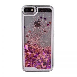 Presýpací plastový kryt pre iPhone 5/5S/SE STARS