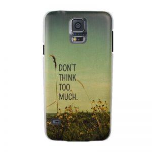Plastový kryt pre Samsung Galaxy S5 THINK