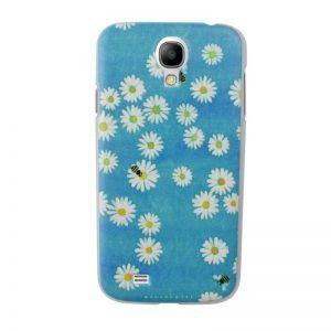 Plastový kryt pre Samsung Galaxy S4 FLOWERS