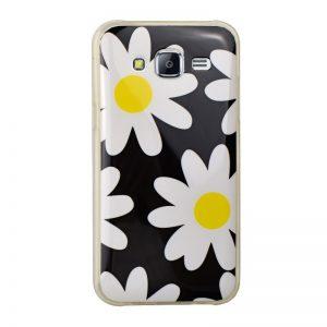Silikónový kryt pre Samsung Galaxy J5 FLOWERS
