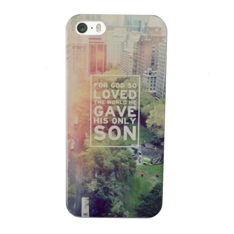 Plastový kryt pre iPhone 5/5S/SE LOVED