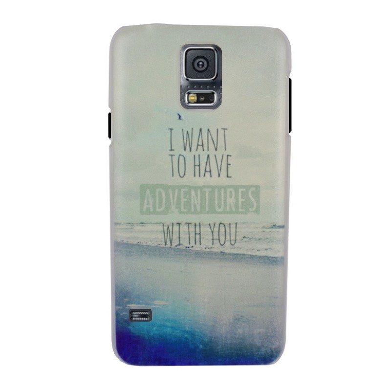 Plastový kryt pre Samsung Galaxy S5 I WANT