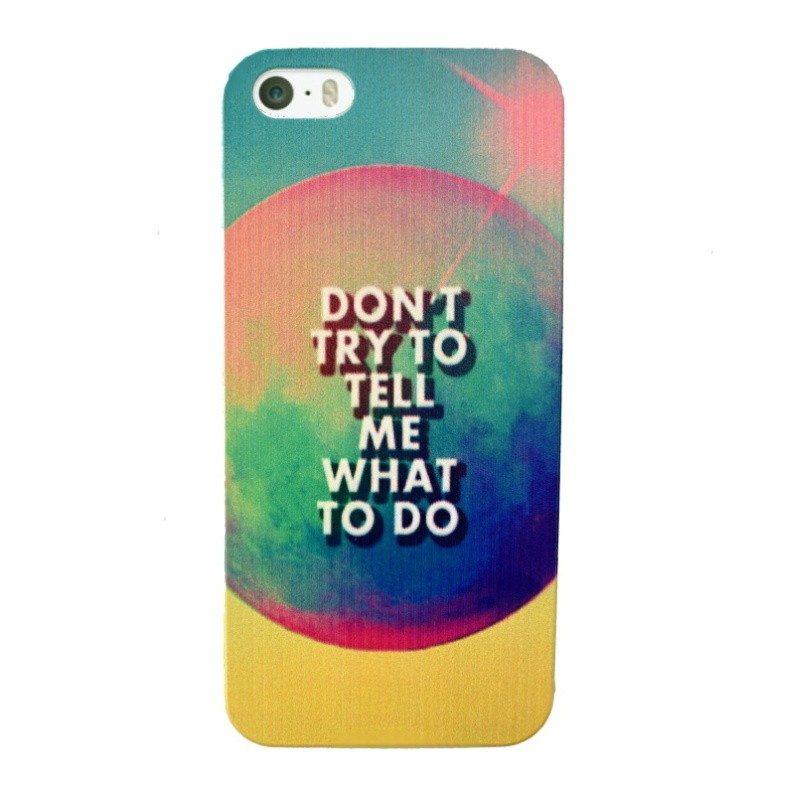 Plastový kryt pre iPhone 5/5S/SE TO DO