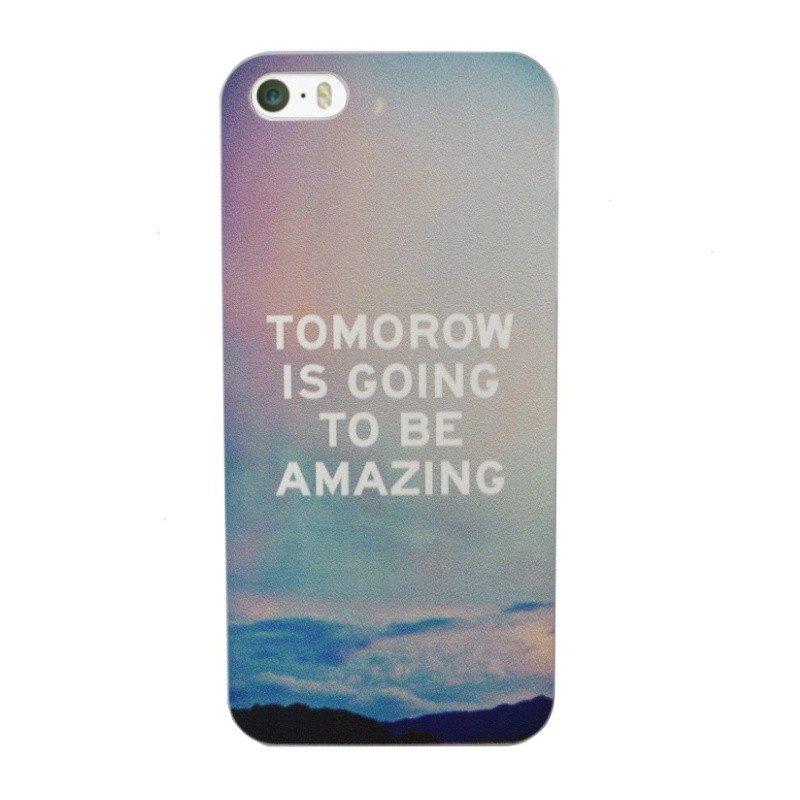 Plastový kryt pre iPhone 5/5S/SE AMAZING