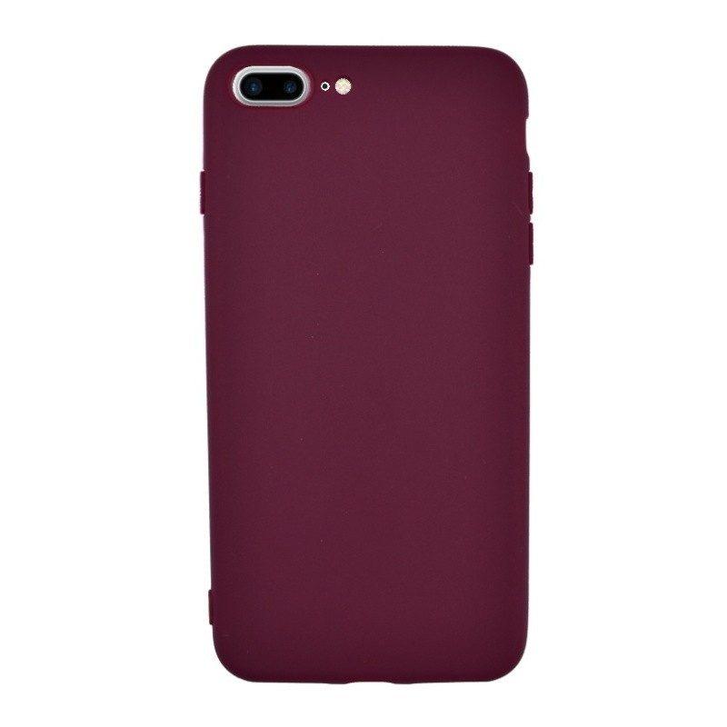 Silikónový kryt pre iPhone 7/8 Plus WINE