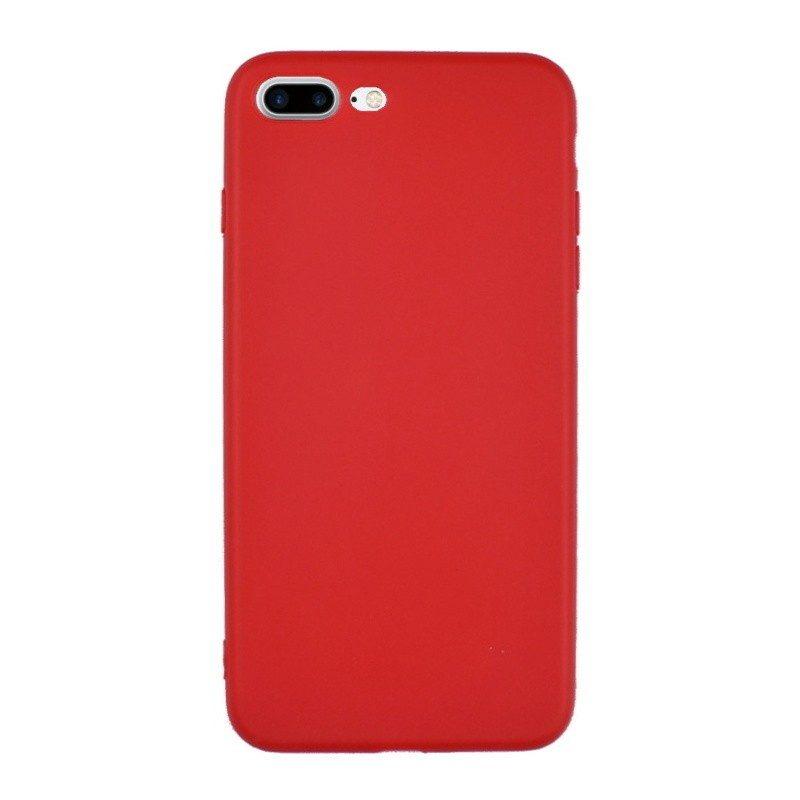 Silikónový kryt pre iPhone 7/8 Plus RED