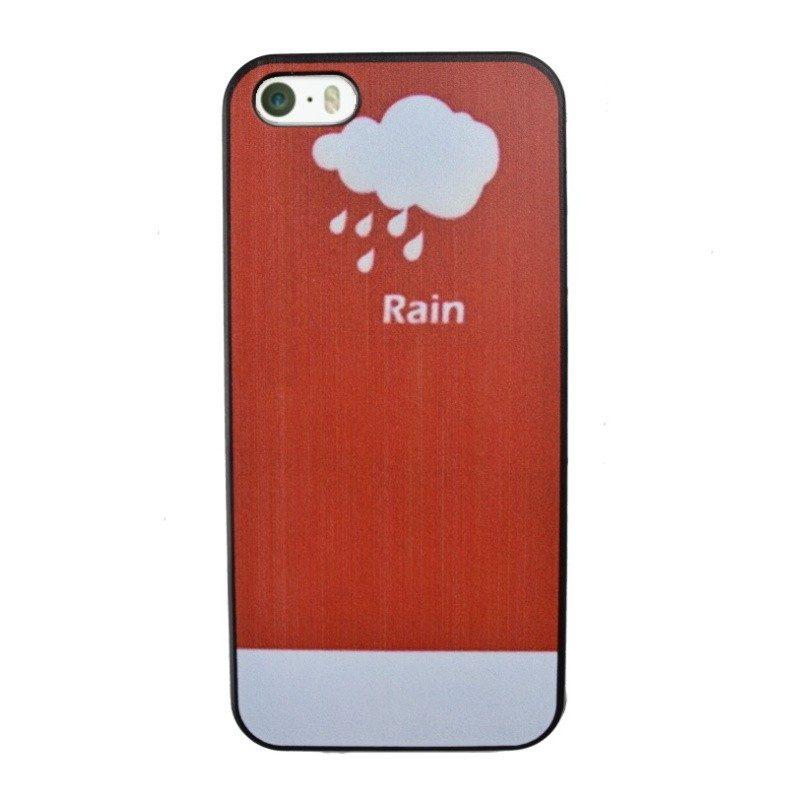 Plastový kryt pre iPhone 5/5S/SE RAIN