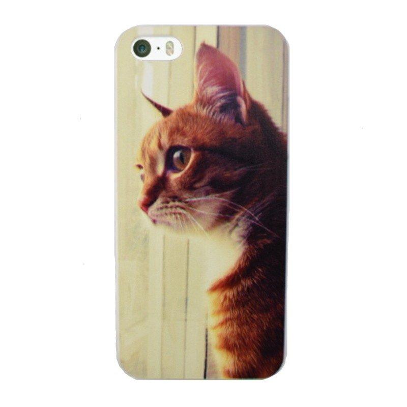 Plastový kryt pre iPhone 5/5S/SE CAT