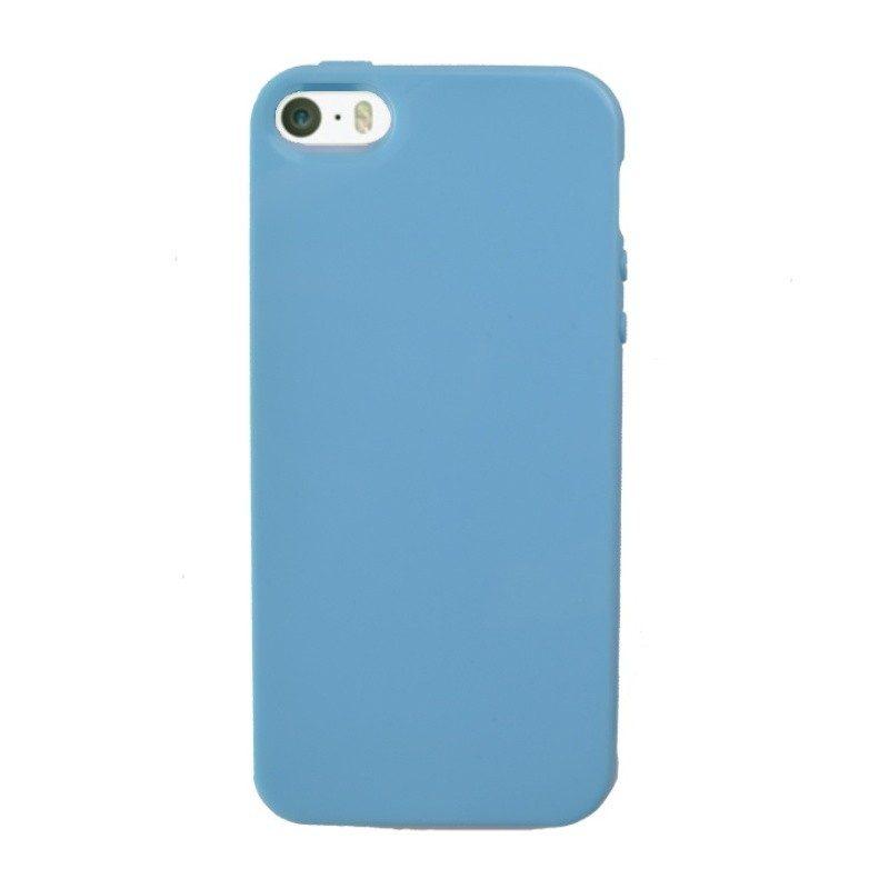 Plastový kryt pre iPhone 5/5S/SE BLUE