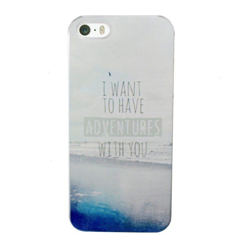 Plastový kryt pre iPhone 5/5S/SE ADVENTURES