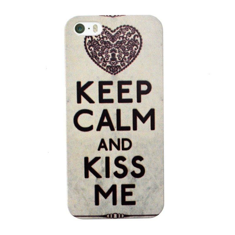 Plastový kryt pre iPhone 5/5S/SE KISS