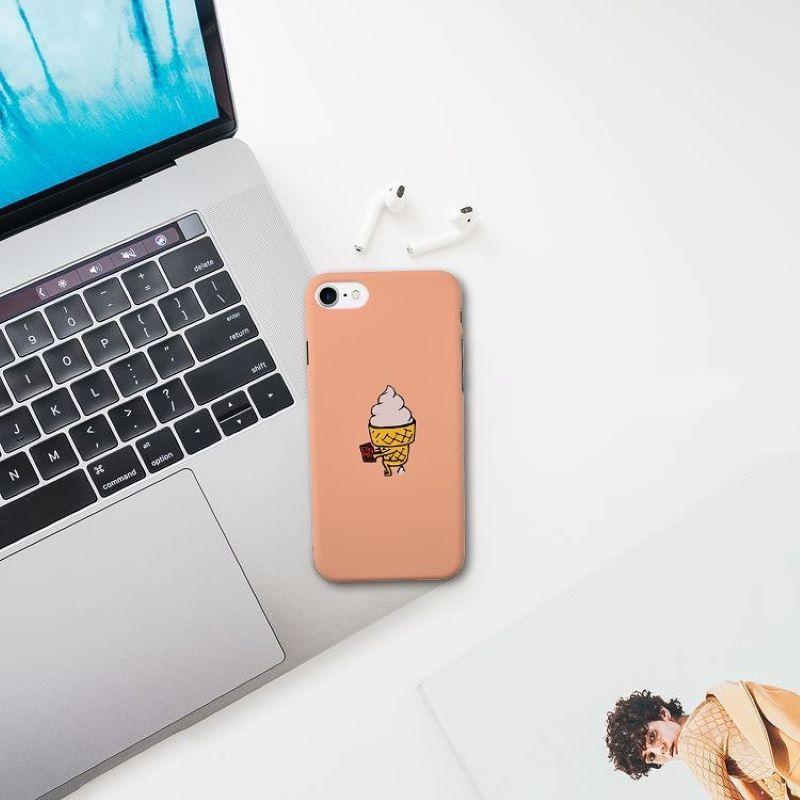 Plastový kryt na iPhone 7/8/SE 2 ICE CREAM