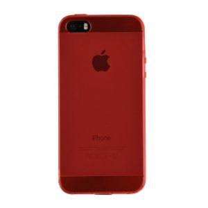 Silikónový kryt pre iPhone 5/5S/SE RED