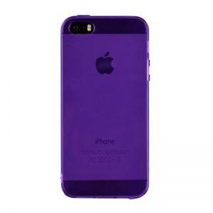 Silikónový kryt pre iPhone 5/5S/SE PURPLE