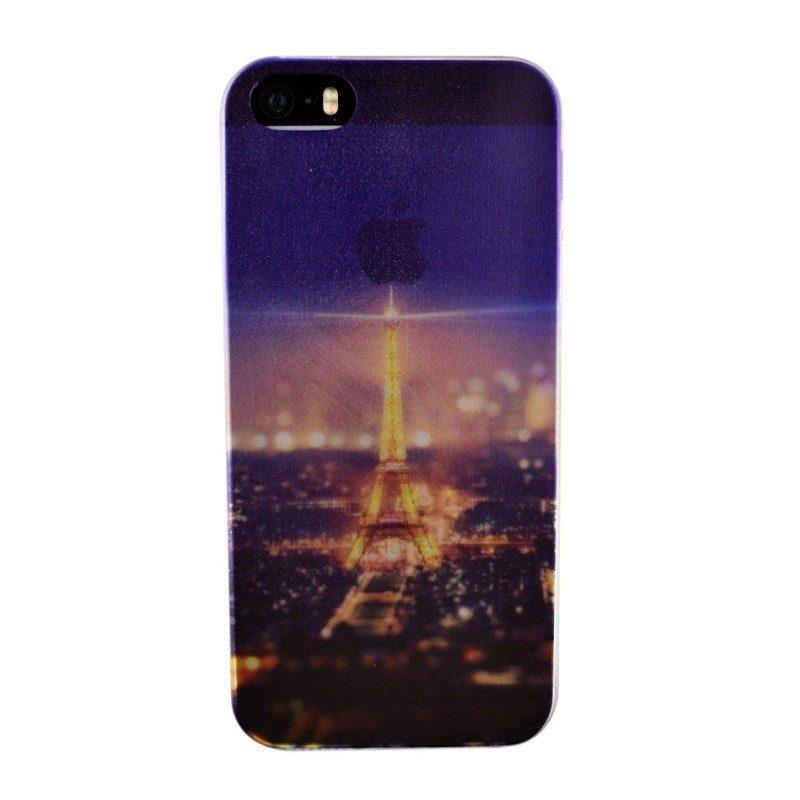 Silikónový kryt pre iPhone 5/5S/SE PARIS
