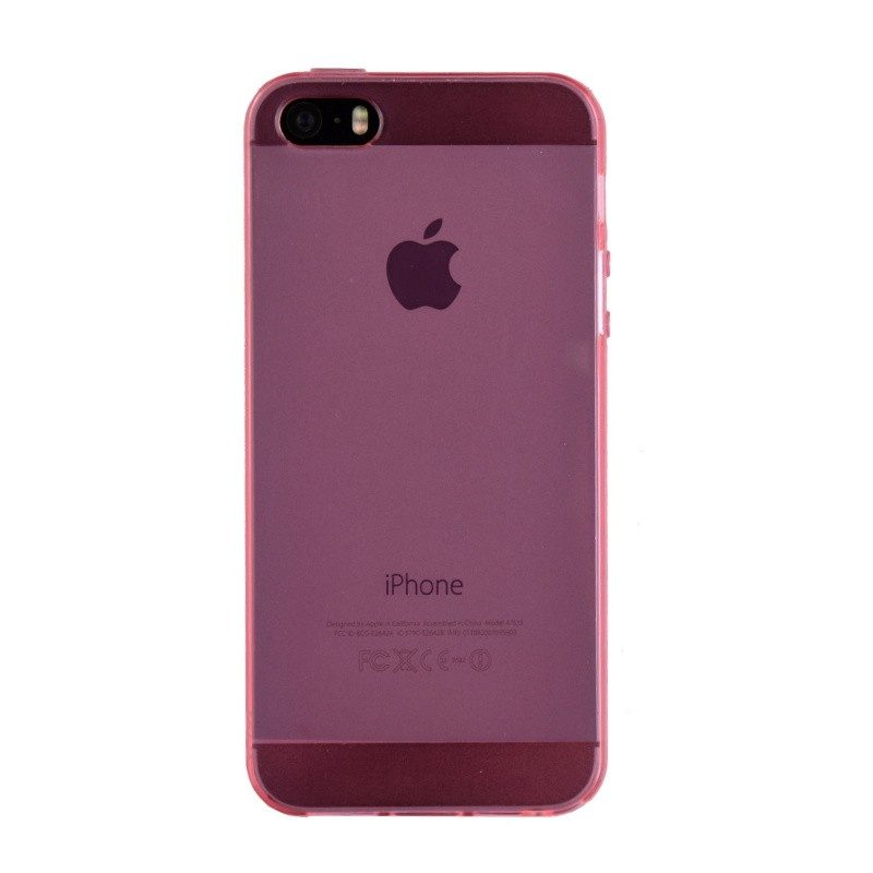 Silikónový kryt pre iPhone 5/5S/SE PINK