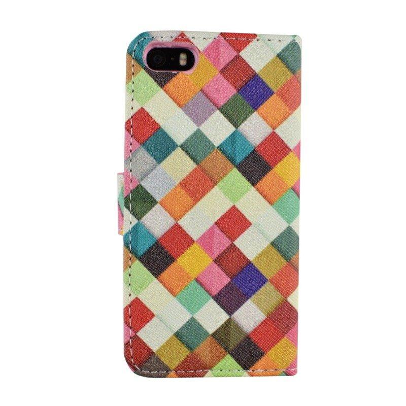 Farebné látkové puzdro pre iPhone 5/5S/SE