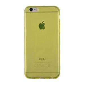 Silikónový kryt pre iPhone 6/6S YELLOW