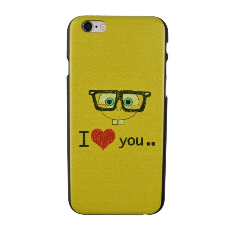 Plastový kryt pre iPhone 6/6S LOVE