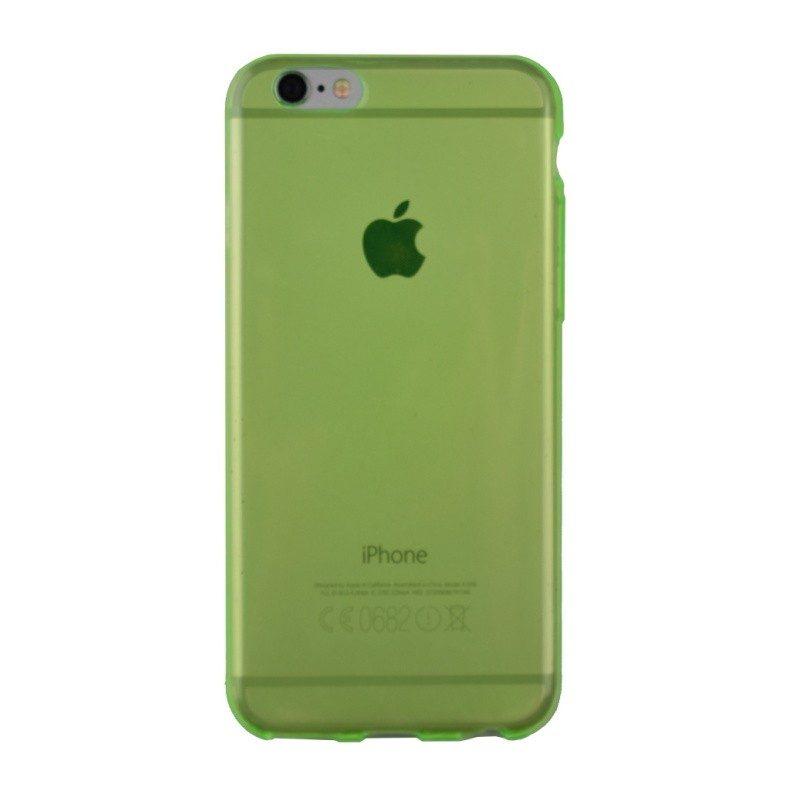 Silikónový kryt pre iPhone 6/6S GREEN