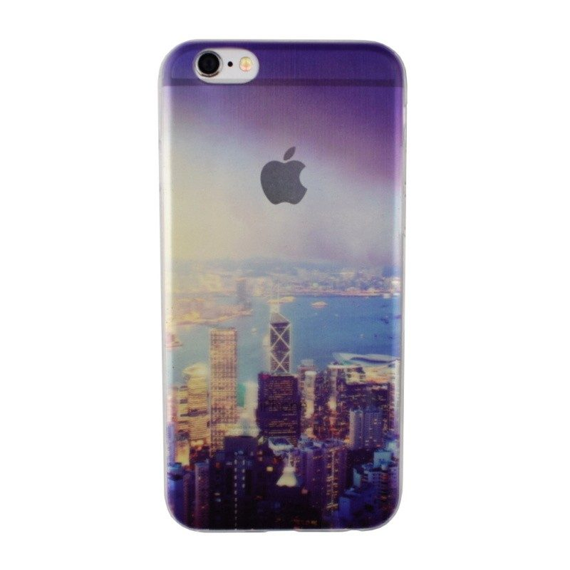 Silikónový kryt pre iPhone 6/6S CITY