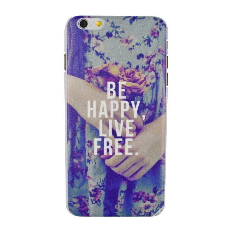 Plastový kryt pre iPhone 6/6S Plus HAPPY
