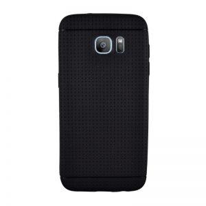 Silikónový kryt pre Samsung Galaxy S7 Edge BLACK