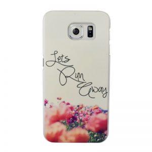 Plastový kryt pre Samsung Galaxy S7 FLOWERS