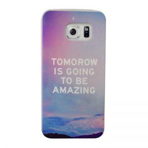Silikónový kryt pre Samsung Galaxy S6 Edge AMAZING