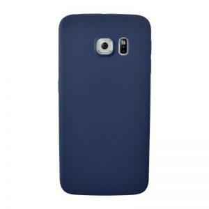 Silikónový kryt pre Samsung Galaxy S6 Edge BLUE
