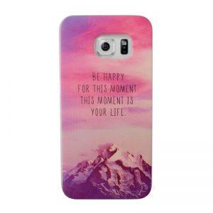 Silikónový kryt pre Samsung Galaxy S6 Edge LIFE