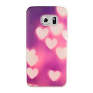 Silikónový kryt pre Samsung Galaxy S6 Edge HEART