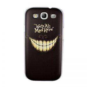 Plastový kryt pre Samsung Galaxy S3 SMILE