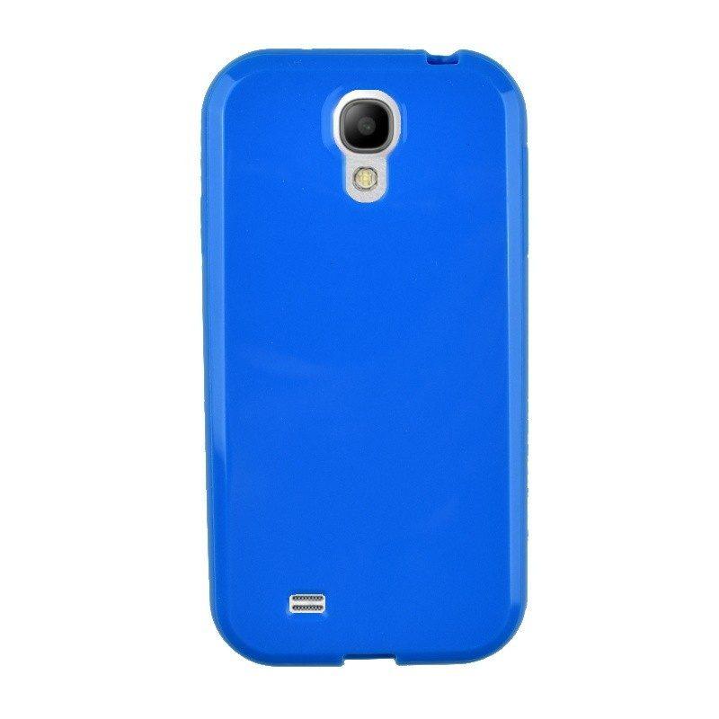 Silikónový kryt pre Samsung Galaxy S4 BLUE