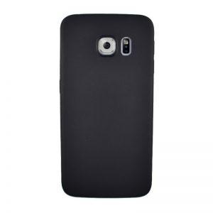 Silikónový kryt pre Samsung Galaxy S6 Edge BLACK