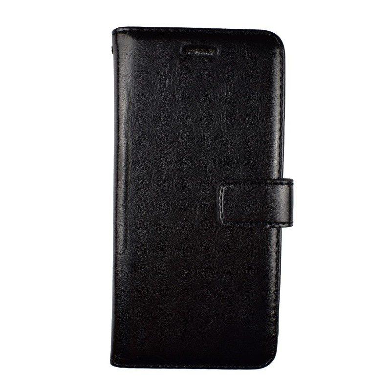 Kožené puzdro pre HTC One M8 BLACK