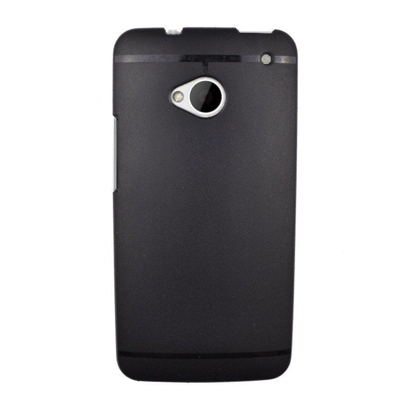 Silikónový kryt pre HTC One M7 BLACK