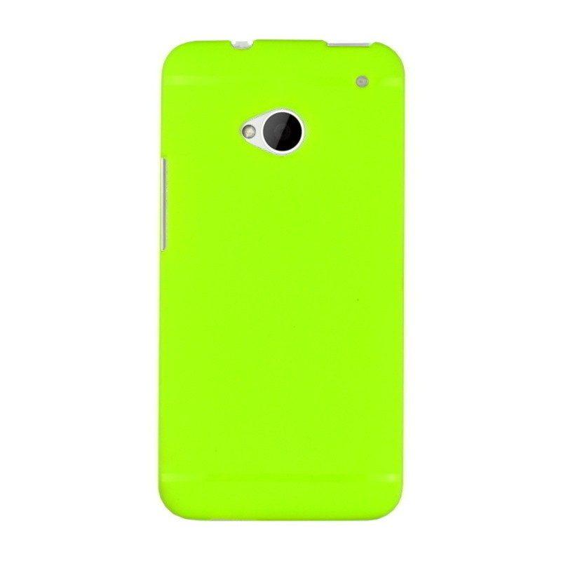 Silikónový kryt pre HTC One M7 GREEN