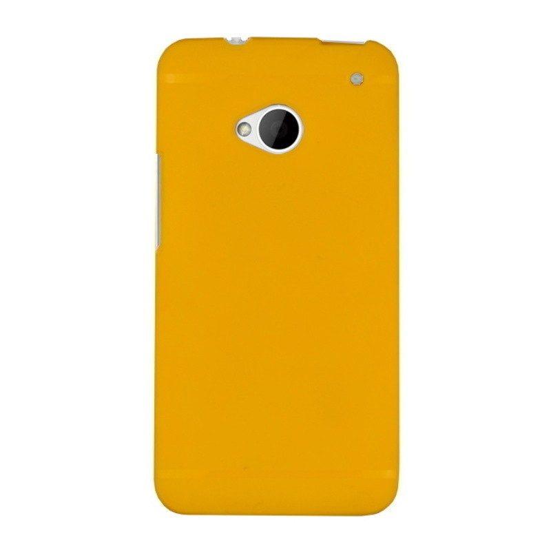 Silikónový kryt pre HTC One M7 YELLOW