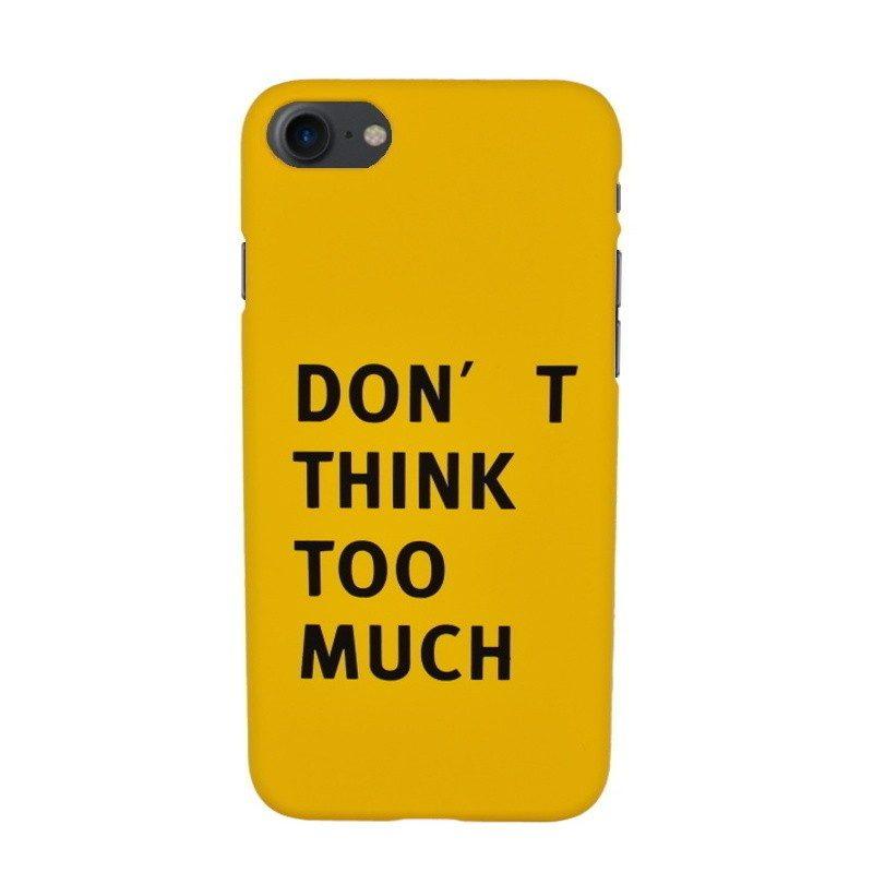 Plastový kryt pre iPhone 7/8 THINK