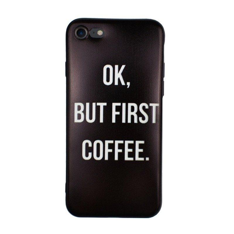 Silikónový kryt pre iPhone 7/8 COFFEE