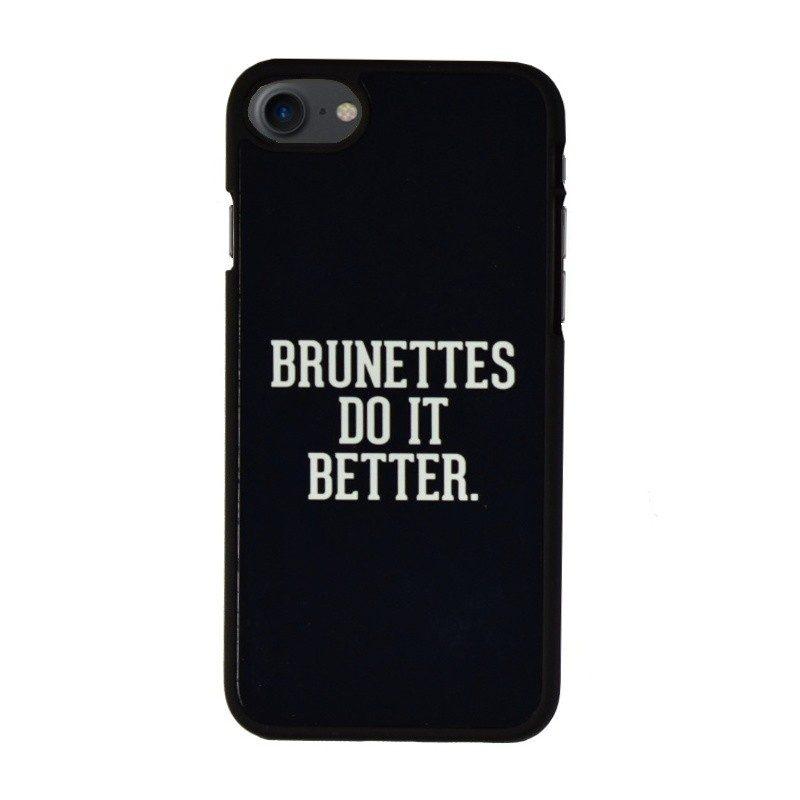 Plastový kryt pre iPhone 7/8 BRUNETTES