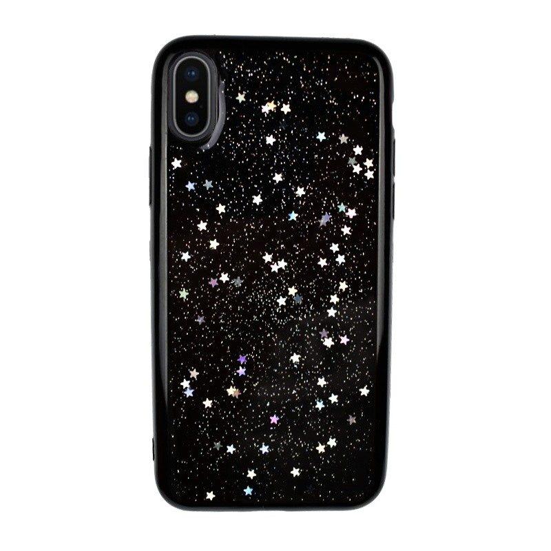 Silikónový kryt pre iPhone X STARS