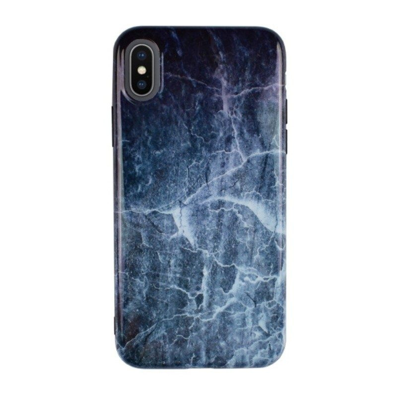 Silikónový kryt pre iPhone X MARBLE