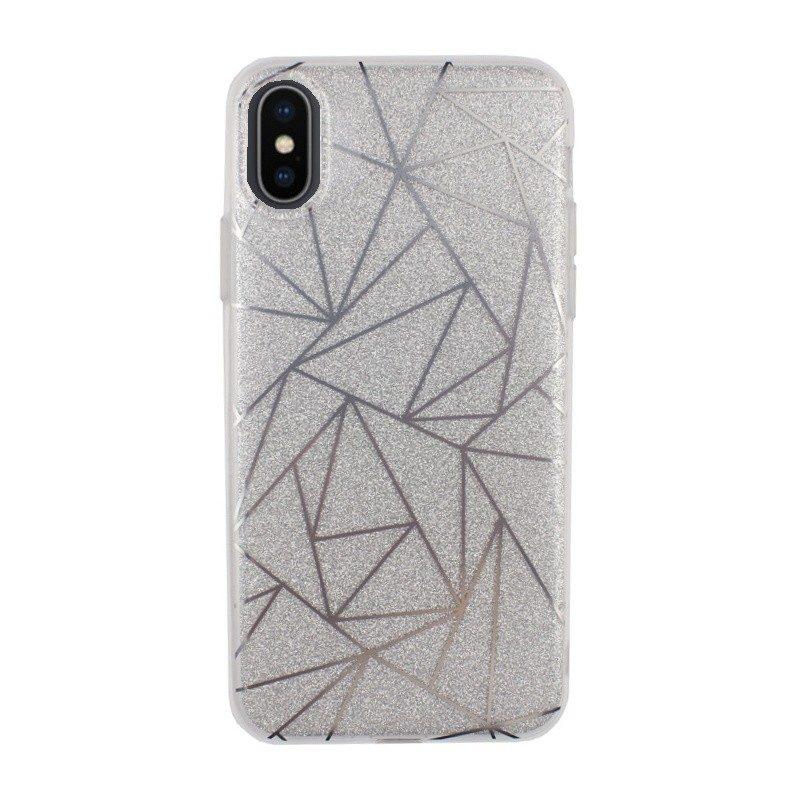 Plastový kryt pre iPhone X GEOMETRY